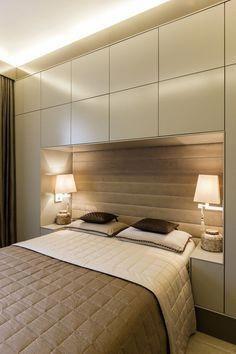 mała sypialnia szafy