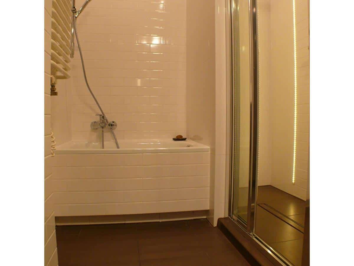 Architekci wnętrz - łazienka w bieli