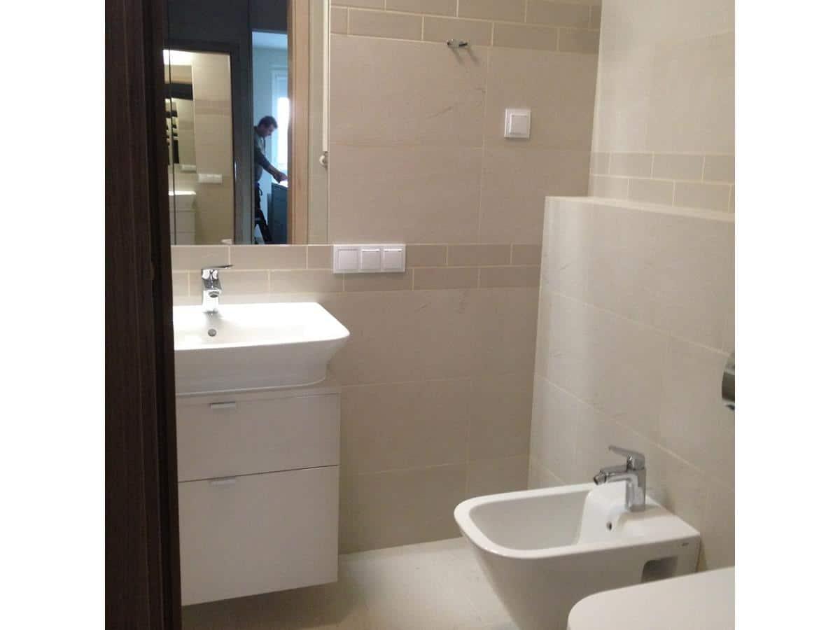 Architekci wnętrz - projekt z wykonaniem łazienki