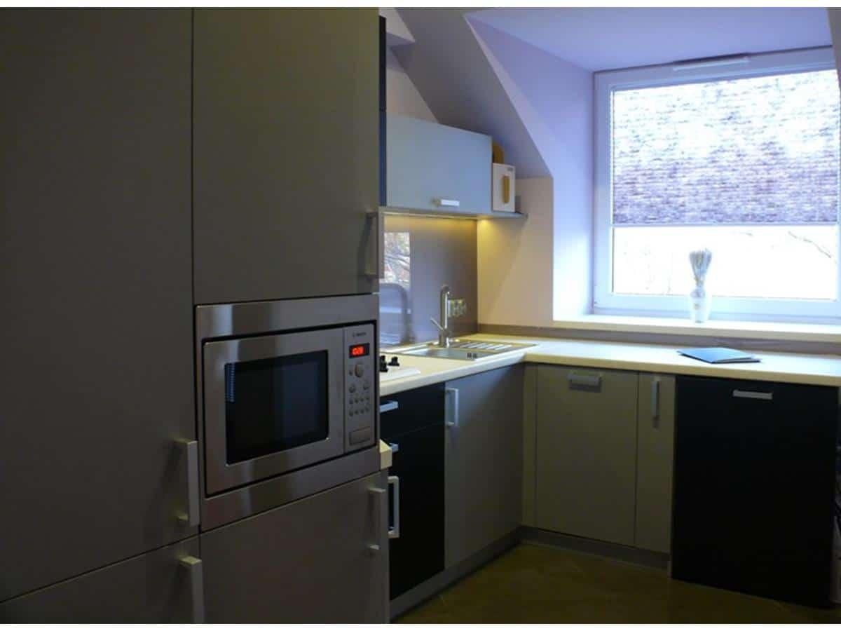 Architekci wnętrz kuchnia na poddaszu