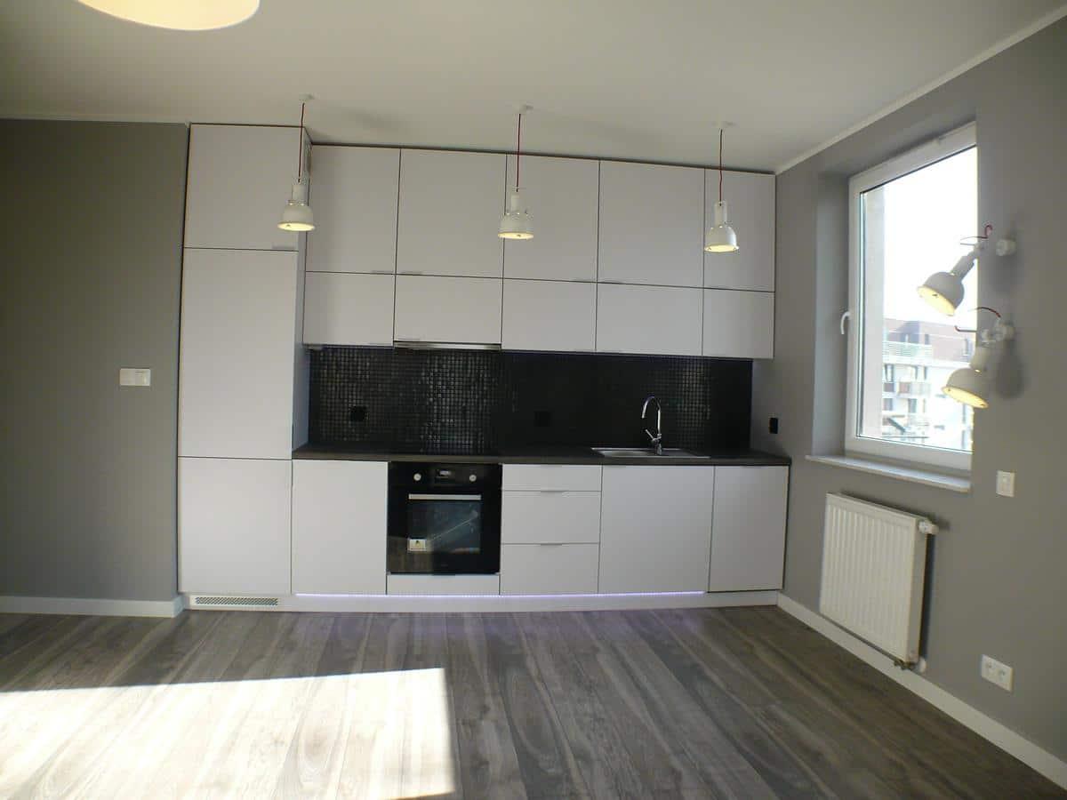 Architekci wnętrz Kraków - kuchnia otwarta na salon