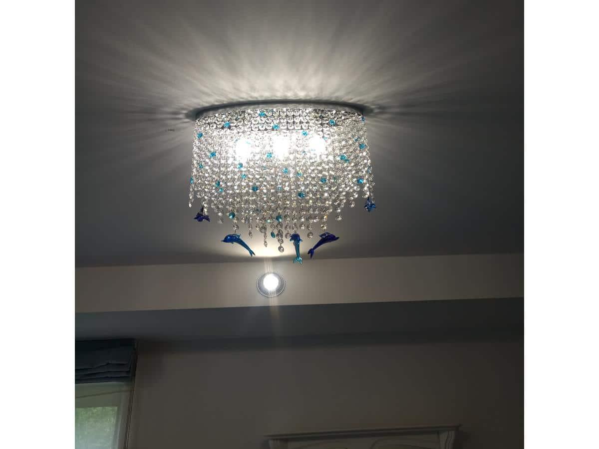 Architekci wnętrz - lampy na zamówienie w pokoju dziecka