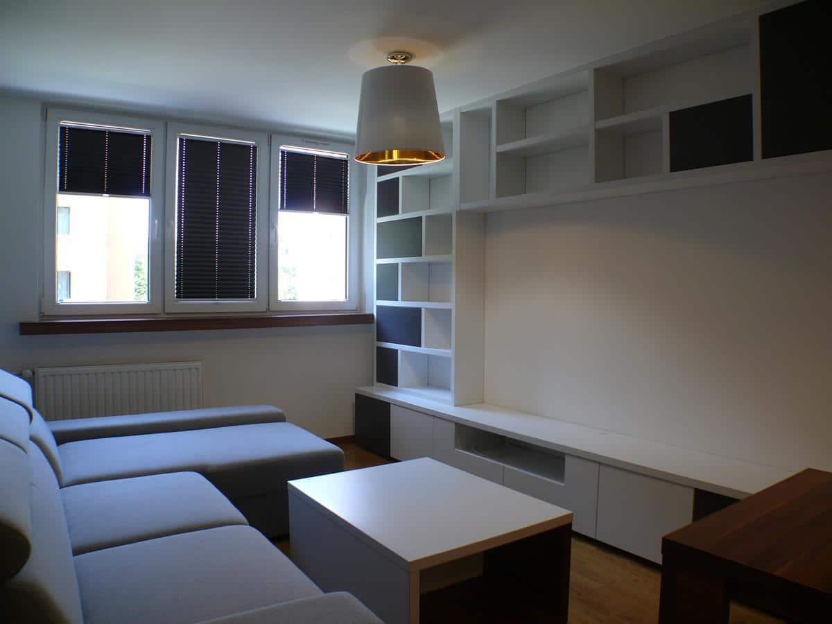 Architekci wnętrz - urzadzenie salonu