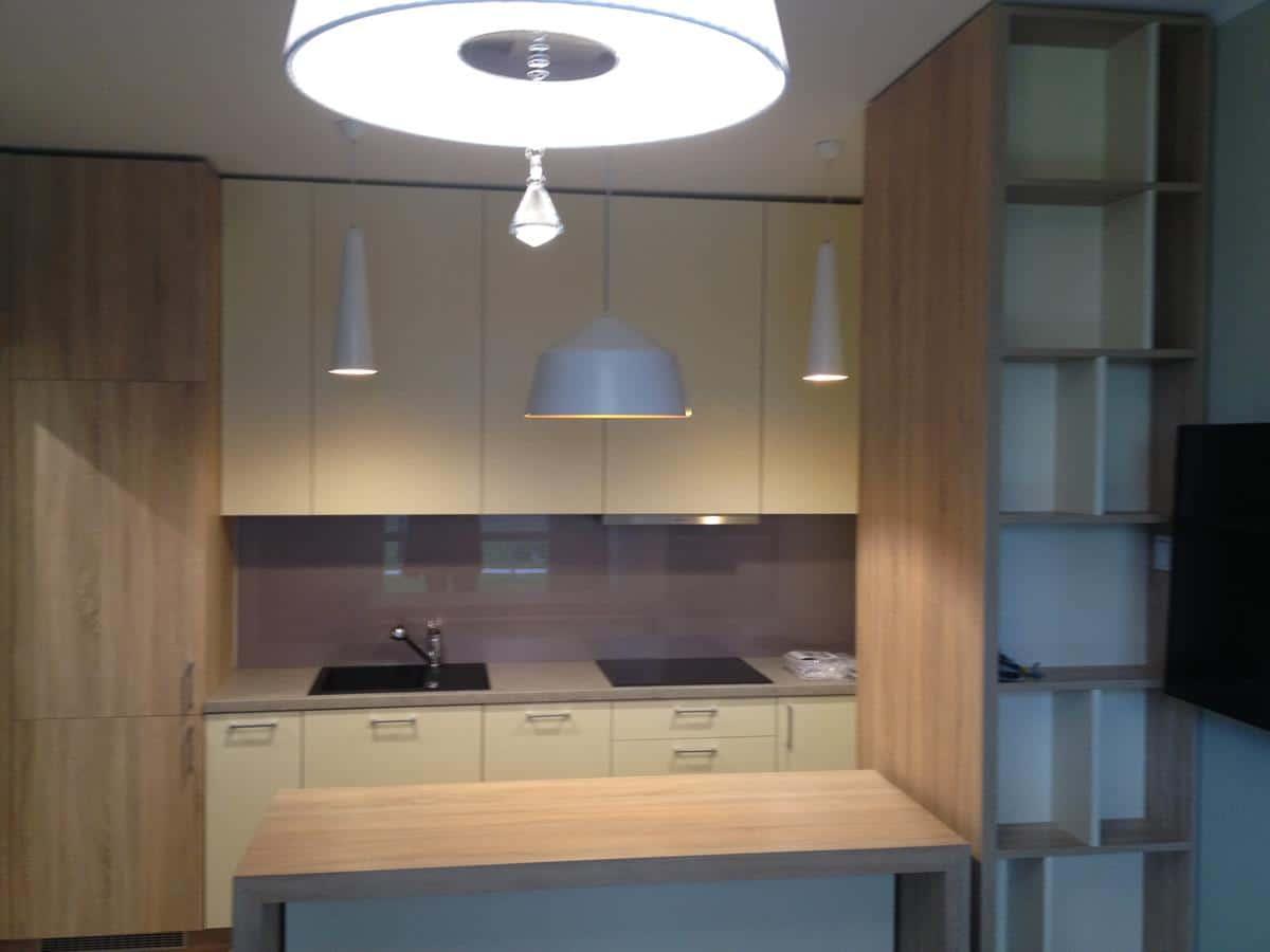 Architektura wnętrz zabudowa kuchni