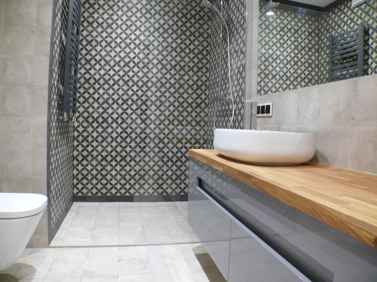 Ekskluzywne wnętrza domów Kraków - łazienka