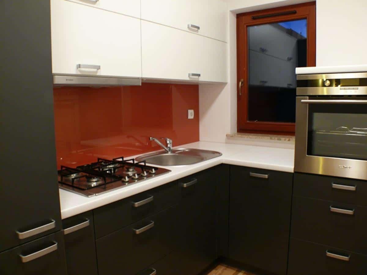 Projekt mieszkania aneks kuchenny