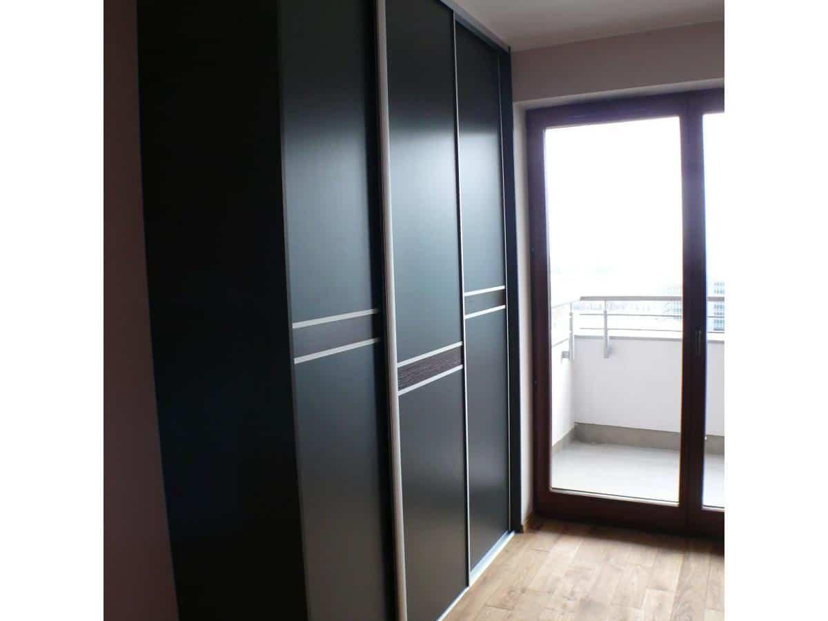 Projekt mieszkania - zabudowa szafy