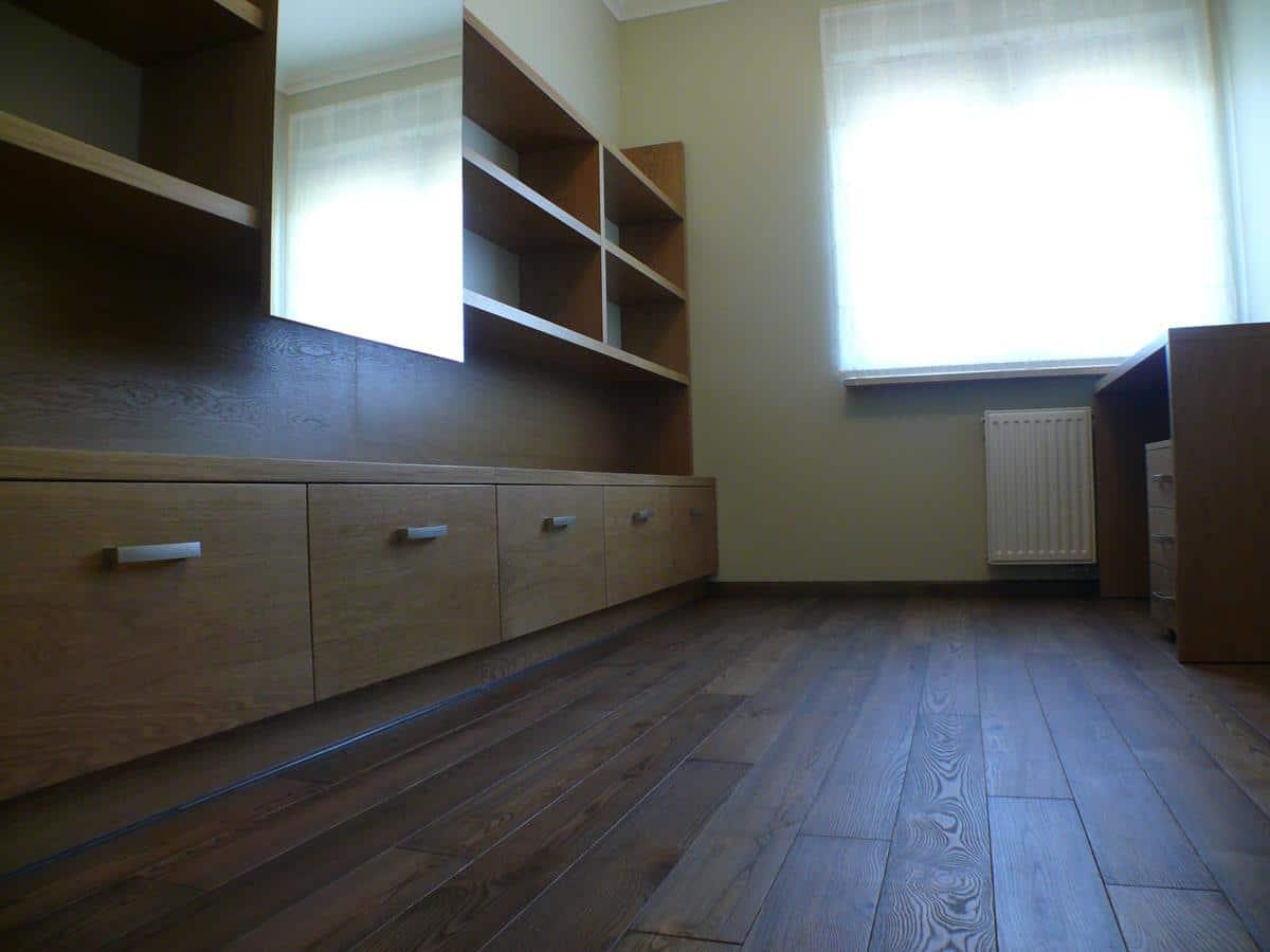 Projekt wnętrz pokoj biurowy