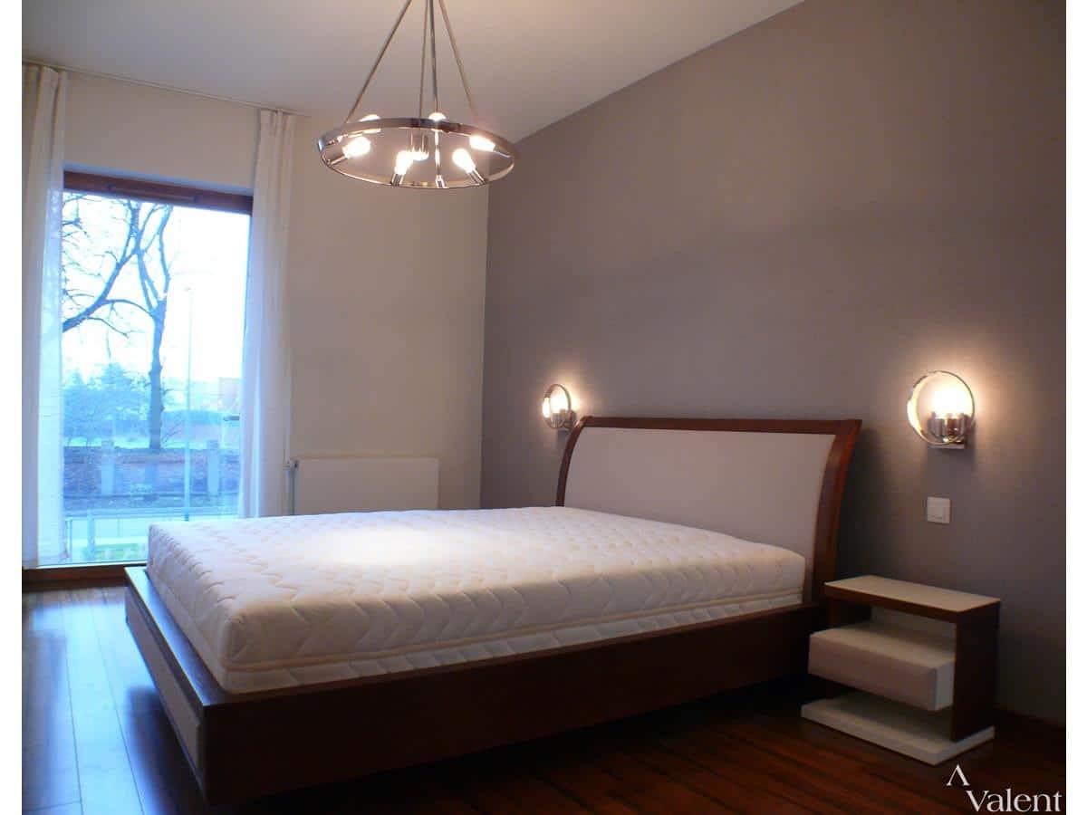 Projektant wnętrz sypialnia w apartamencie