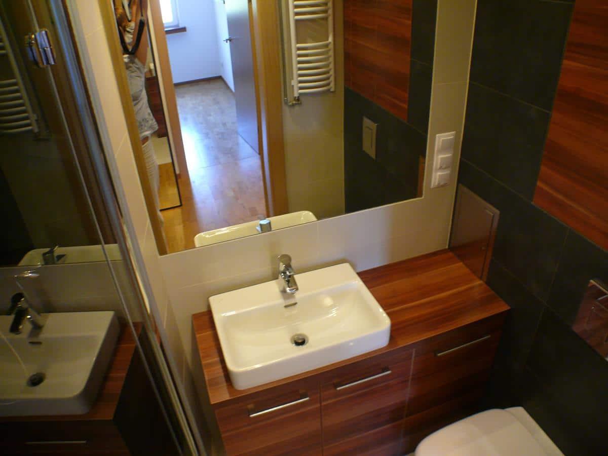 Projektowanie i aranżacja wnętrz - łazienka w bloku