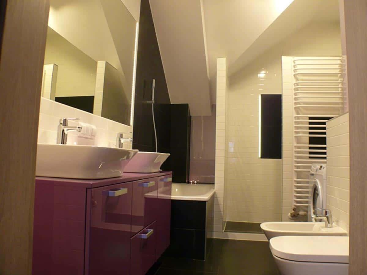 Projektowanie mieszkania łazienka