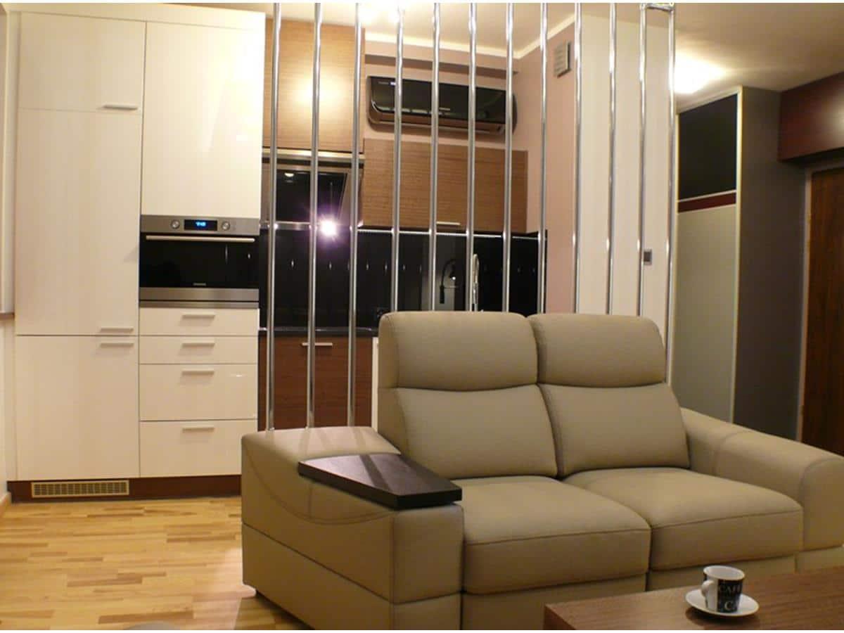 Projektowanie wnętrz kuchnia otwarta na salon
