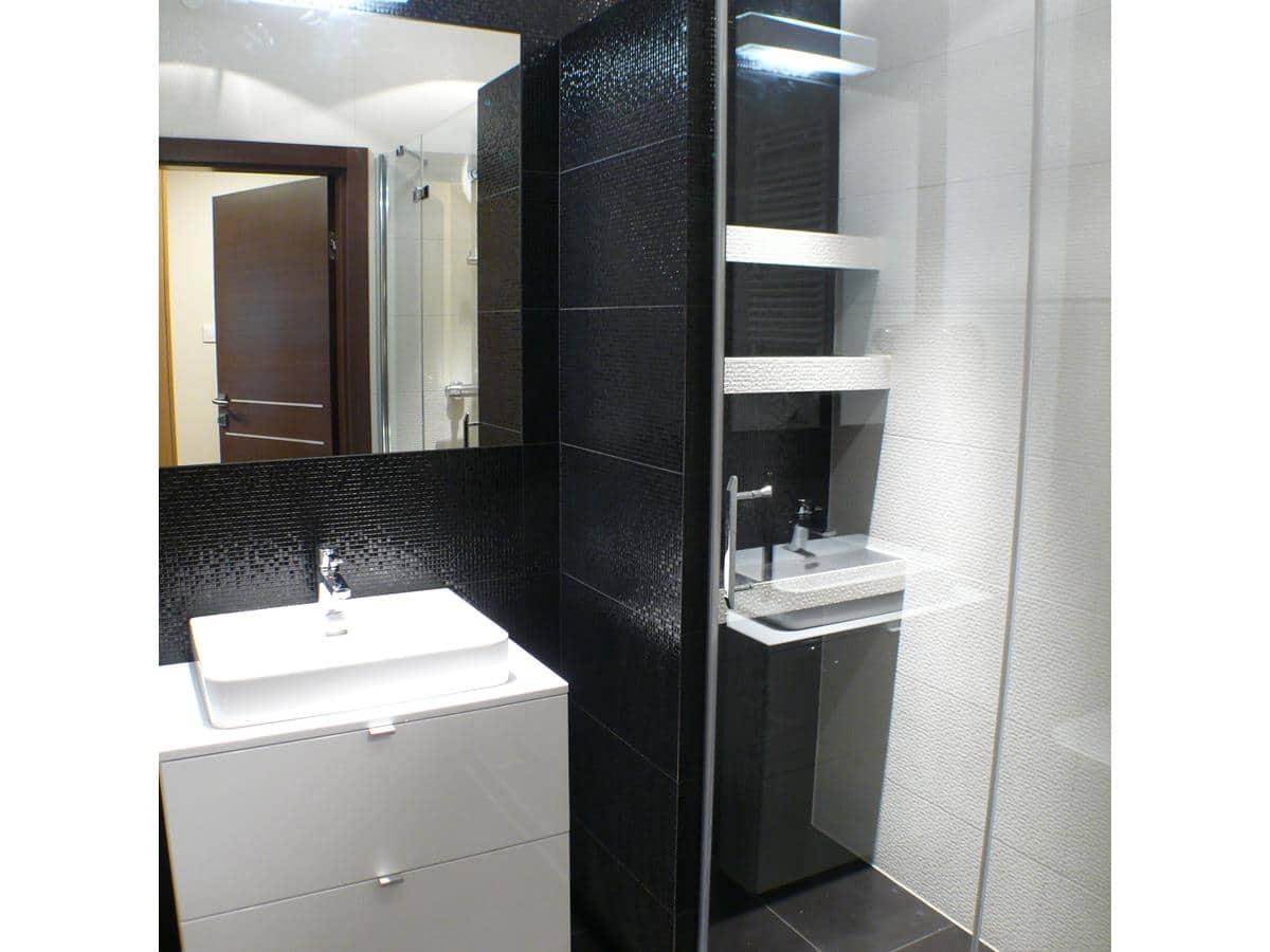 Projekty apartamentów Kraków - łazienka