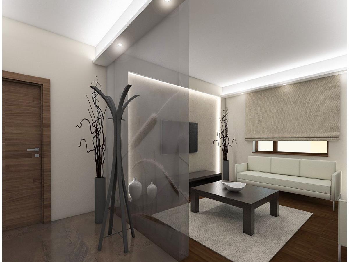 Projekty wnętrz domów jednorodzinnych