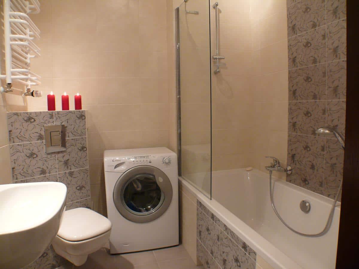 Projekty wnętrz mieszkań łazienka