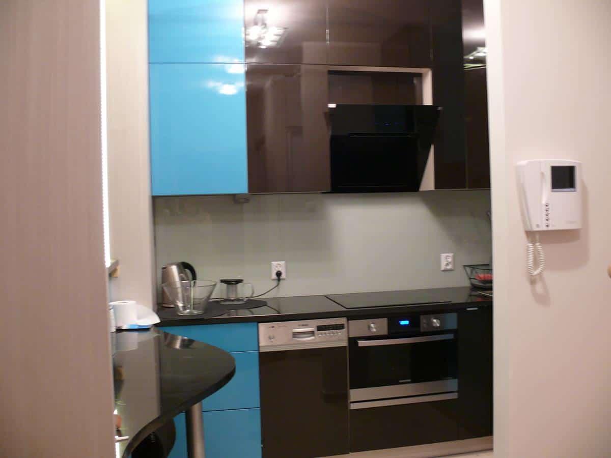 Projekty wnętrz mieszkań kuchni