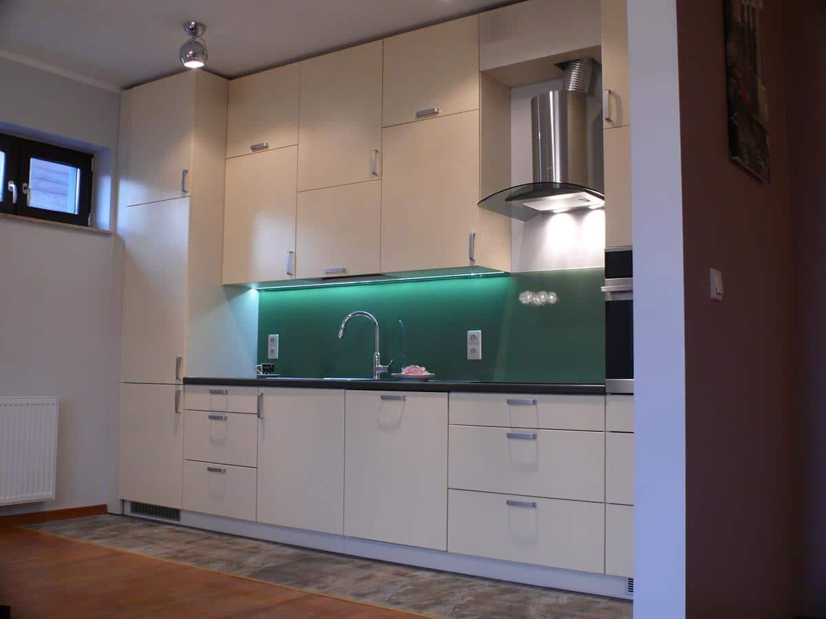 Projekty wnętrz mieszkań kuchnia