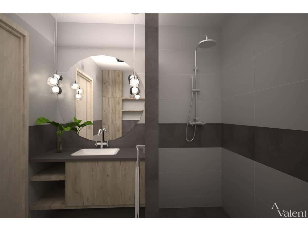 Wnętrza nowoczesnych domów - łazienka