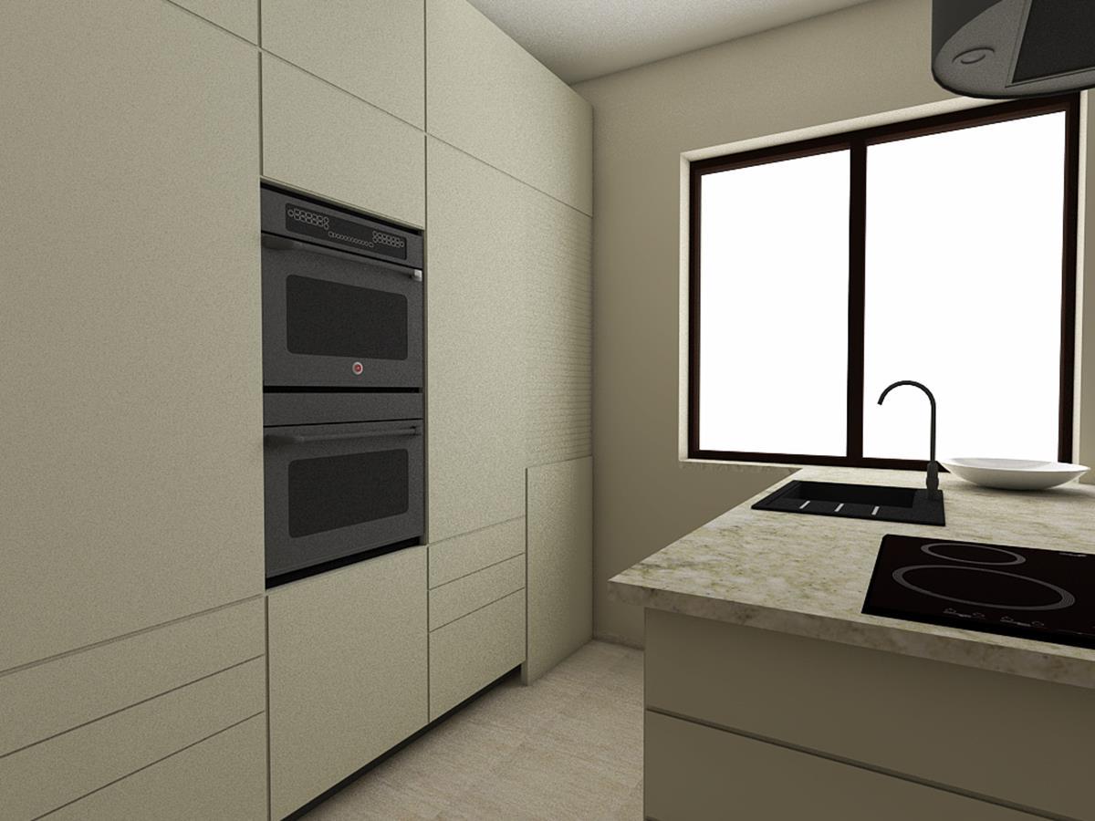 Wnętrza nowoczesnych domów - kuchnia z wyspą