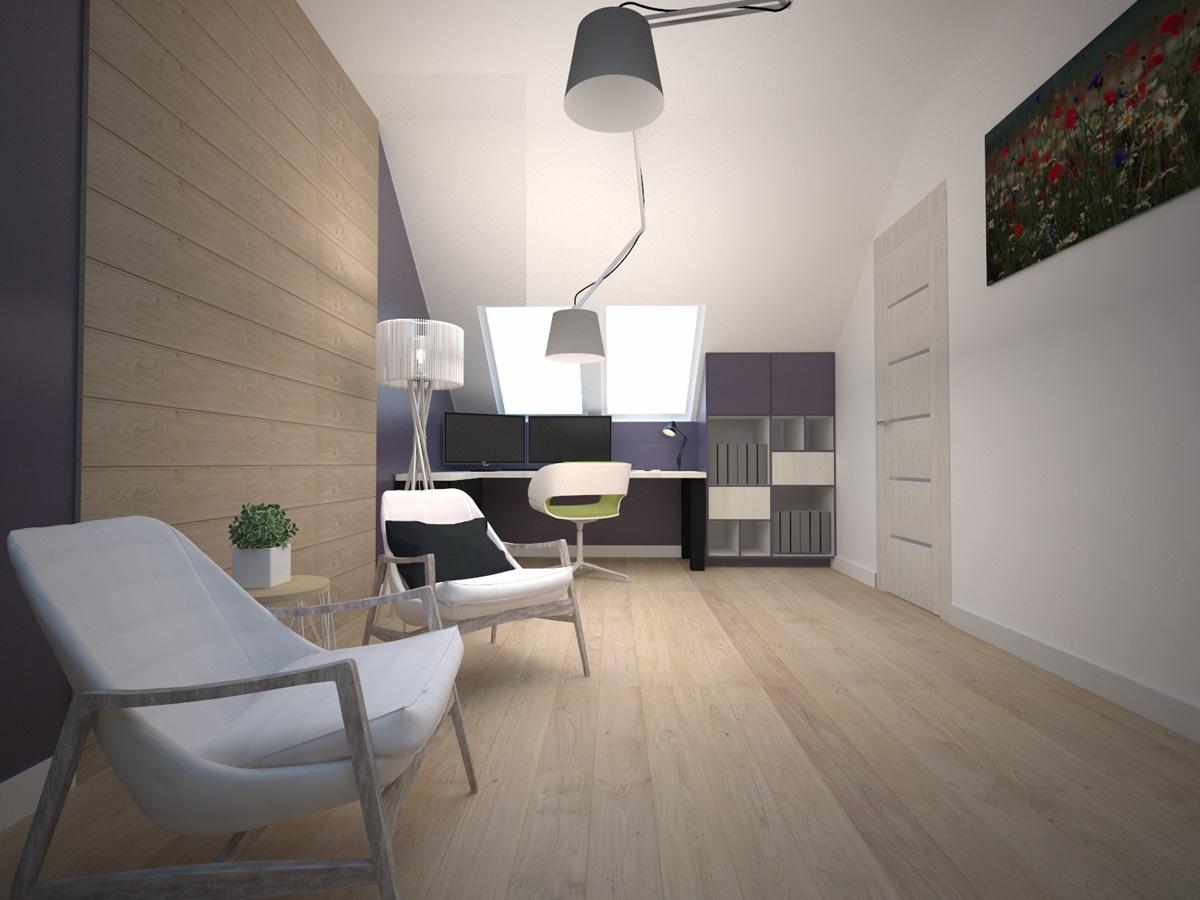 Wnętrza nowoczesnych domów