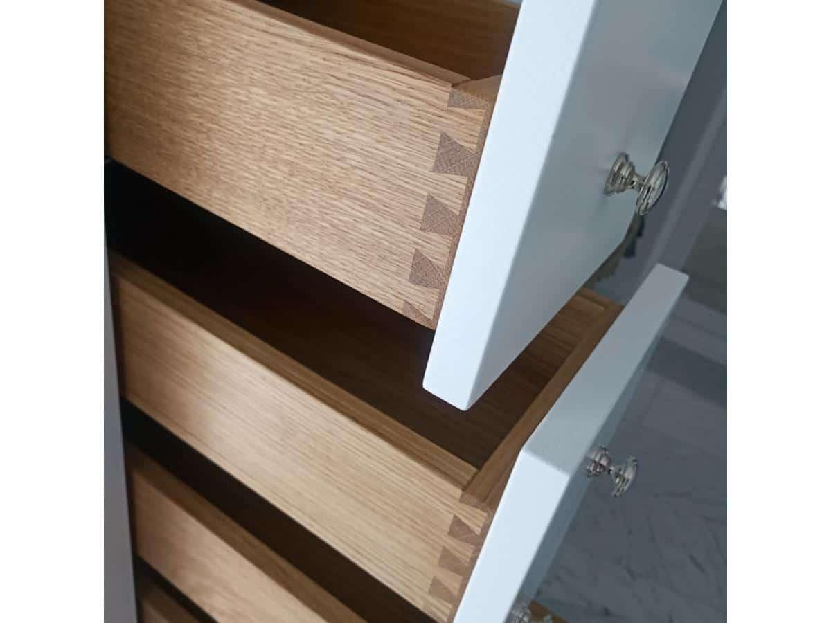 Wnętrza projekty - kuchnia z drewna