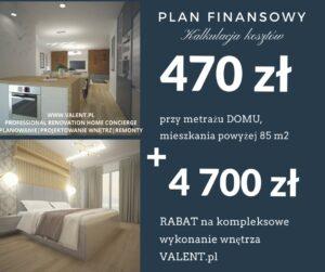 plan finansowy kalkulacja kosztów pow85 VALENT pl