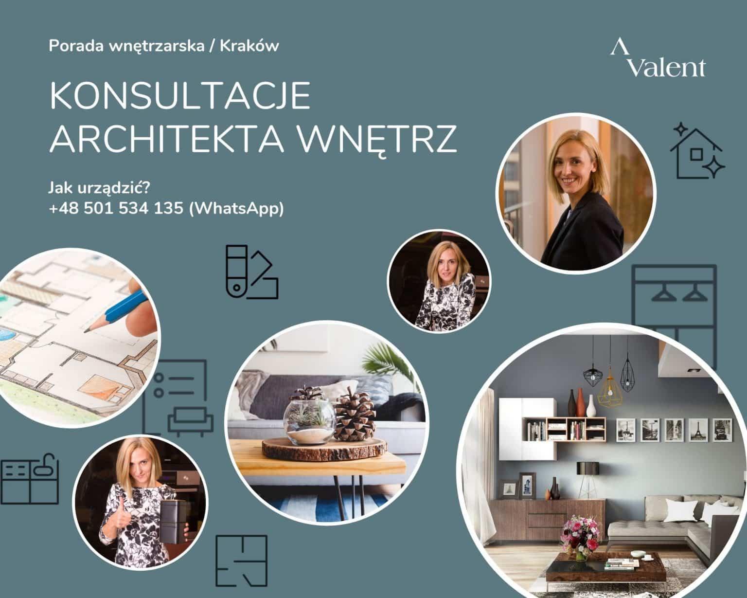 Konsultacje architekta wnętrz