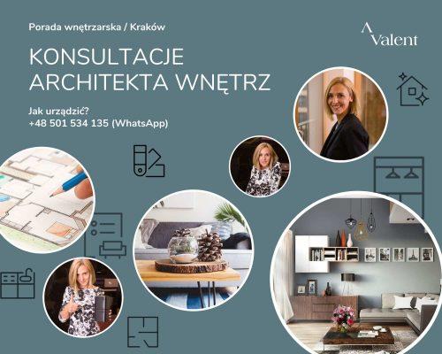 Konsultacja architekta wnętrz