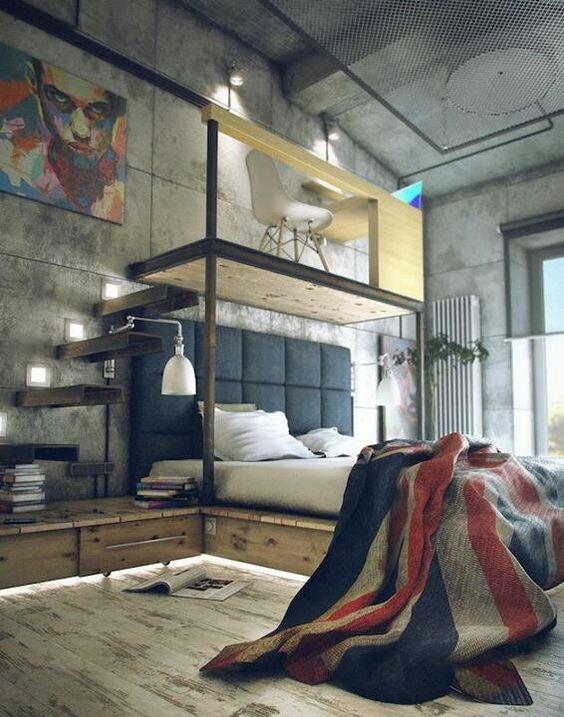 mieszkanie w loftach