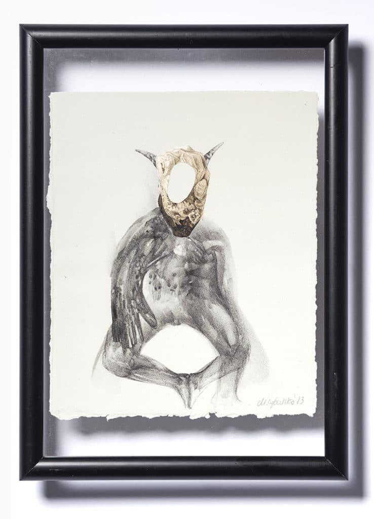 Ewa Pello, bez tytułu, olej, płótno, 70x100 cm