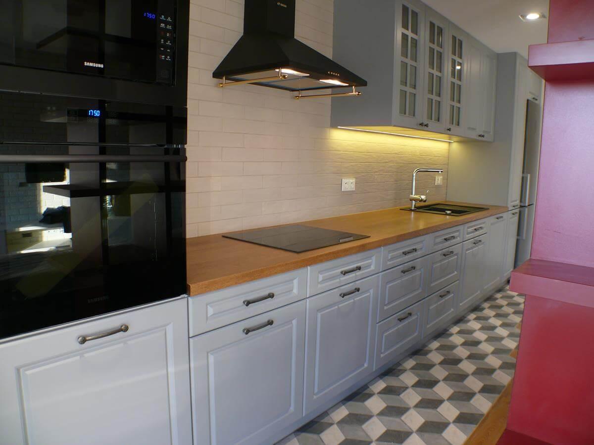 Architekt wnętrz - kuchnia w stylu
